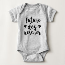 Future Dog Rescuer Baby Bodysuit