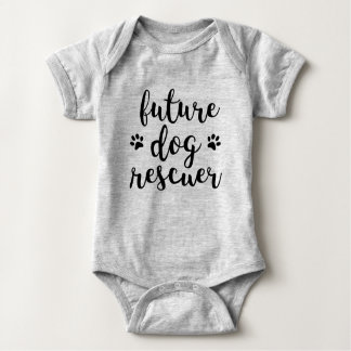 Future Dog Rescuer Baby Bodysuit