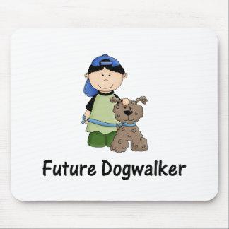 future dogwalker (boy) mouse pad