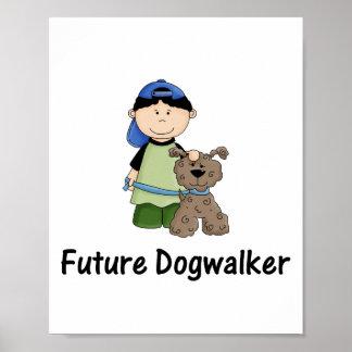 future dogwalker (boy) print