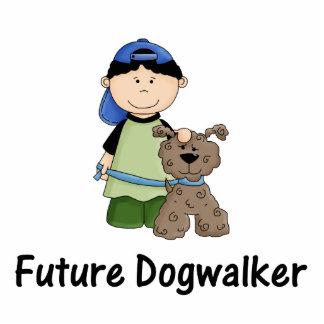 future dogwalker (boy) statuette