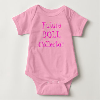 Future Doll Collector baby creeper in pink