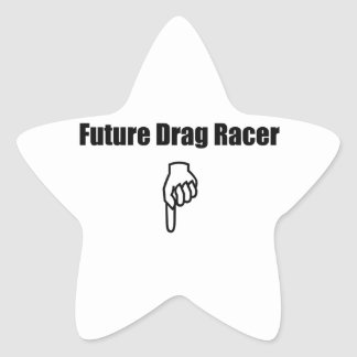 Future Drag Racer Stickers