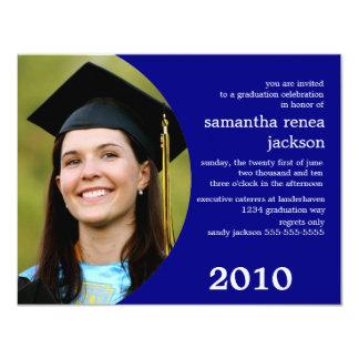 Future Dreamer Graduation Invitation (Blue)