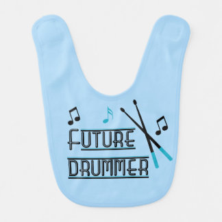 Future Drummer Baby Bib