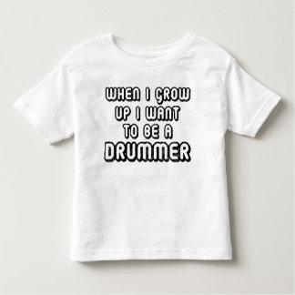 Future Drummer Music Kids T-shirt