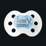 "Future Drummer Pacifier<br><div class=""desc"">Future Drummer</div>"