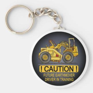 Future Earthmover Scraper Driver Key Chain