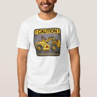 Future Earthmover Scraper Driver Mens T-Shirt