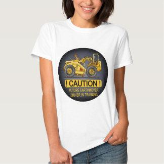 Future Earthmover Scraper Driver Womens T-Shirt