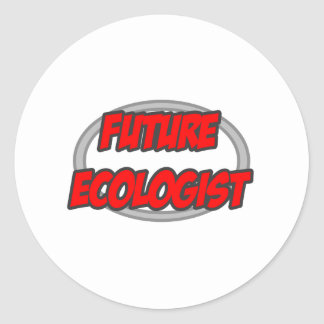 Future Ecologist Classic Round Sticker