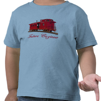 FUTURE ENGINEER-T-SHIRT --RED CABOOSE