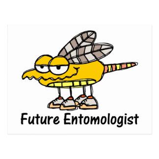 Future Entomologist Postcard