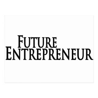 future entrepreneur postcard