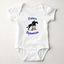 Future Equestrian Kid's Baby Bodysuit