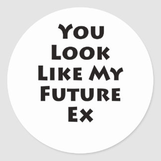 Future Ex Classic Round Sticker