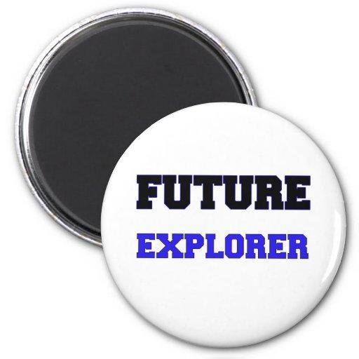 Future Explorer 2 Inch Round Magnet