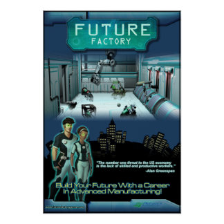 Future Factory Game Poster