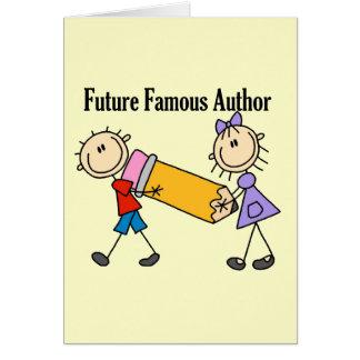 Future Famous Author Card