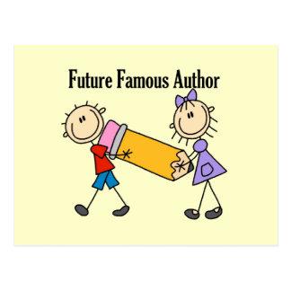 Future Famous Author Postcard