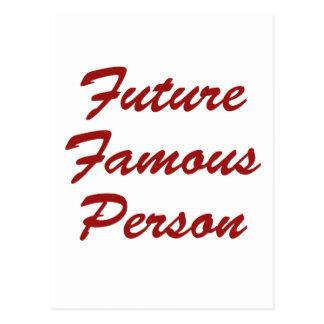 Future Famous Person Postcard