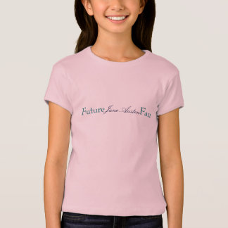 Future Fan, Jane Austen T-Shirt