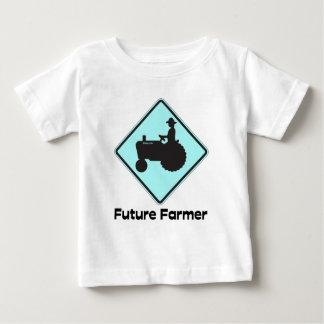 Future Farmer Baby Blue Baby T-Shirt
