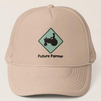 Future Farmer Blue Trucker Hat