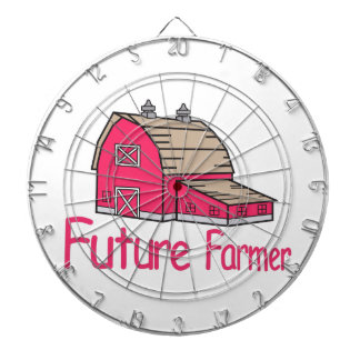 Future Farmer Dartboard With Darts