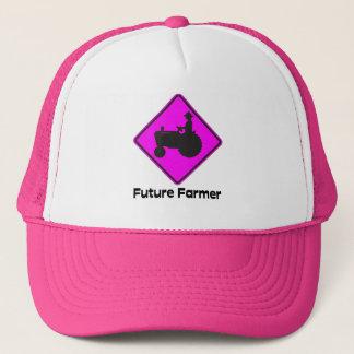 Future Farmer Pink Trucker Hat