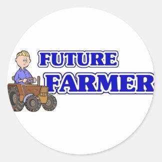 Future Farmer Classic Round Sticker