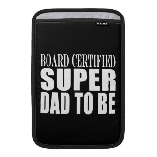 Future Fathers Board Certified Super Dad to Be iPad Sleeve