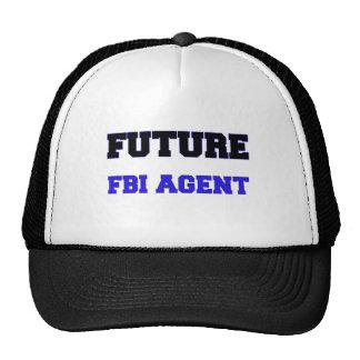 Future Fbi Agent Mesh Hat
