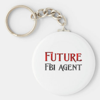 Future Fbi Agent Keychain