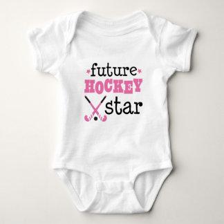 Future Field Hockey Star Sports Baby Bodysuit