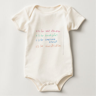 Future Financial Advisor Baby Bodysuit