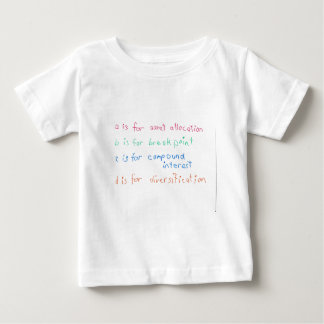 Future Financial Advisor Baby T-Shirt