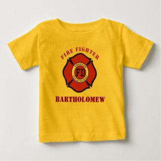 Future Fire Fighter Baby T-Shirt