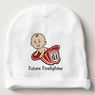 Future Firefighter Baby Beanie