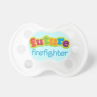 Future Firefighter Baby Shower Custom Gift Pacifier