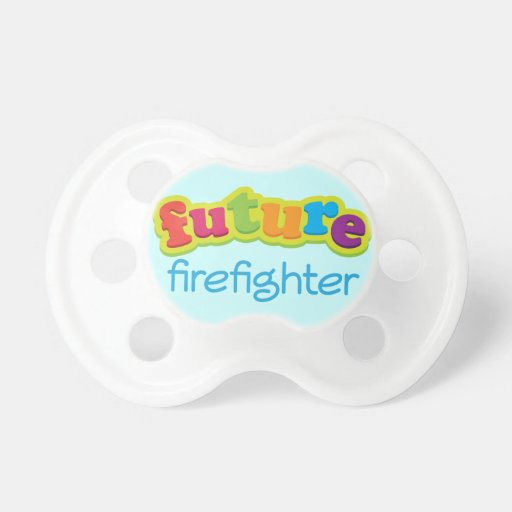 future firefighter baby shower custom gift pacifier zazzle