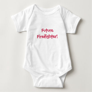 Future Firefighter!-Baby T Shirt