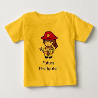 Future Firefighter Baby T-Shirt