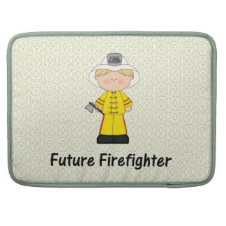 future firefighter (boy) sleeve for MacBooks