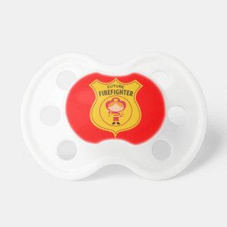 Future Firefighter Pacifier