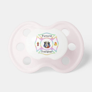 Future Firefighter Pastel Pacifier