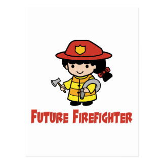 Future Firefighter Post Cards