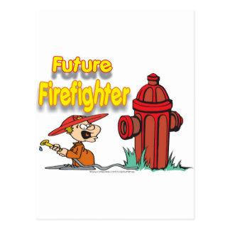 FUTURE FIREFIGHTER POSTCARD