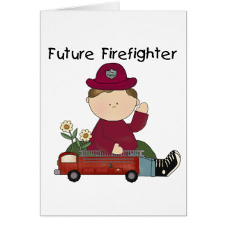 Future Firefighter Tshirts and Gifts Card