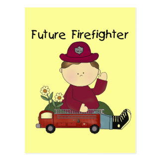 Future Firefighter Tshirts and Gifts Postcard